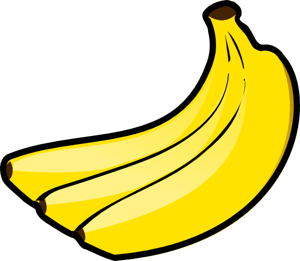 graphic transparent stock  collection of banana. Bananas vector banna