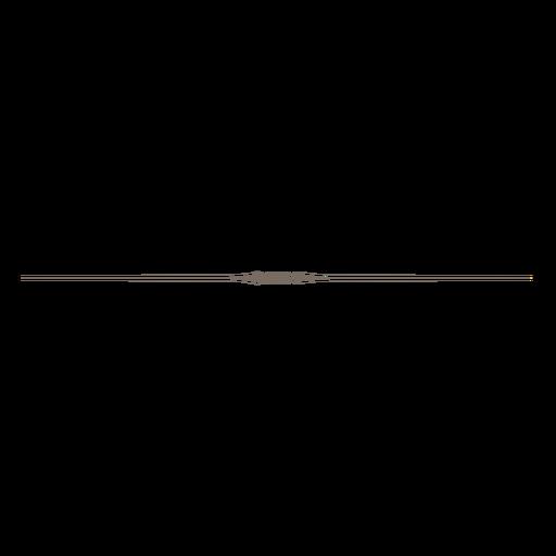 banner transparent line divider