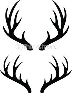 png royalty free stock Deer horns hunting themes. Horn vector.