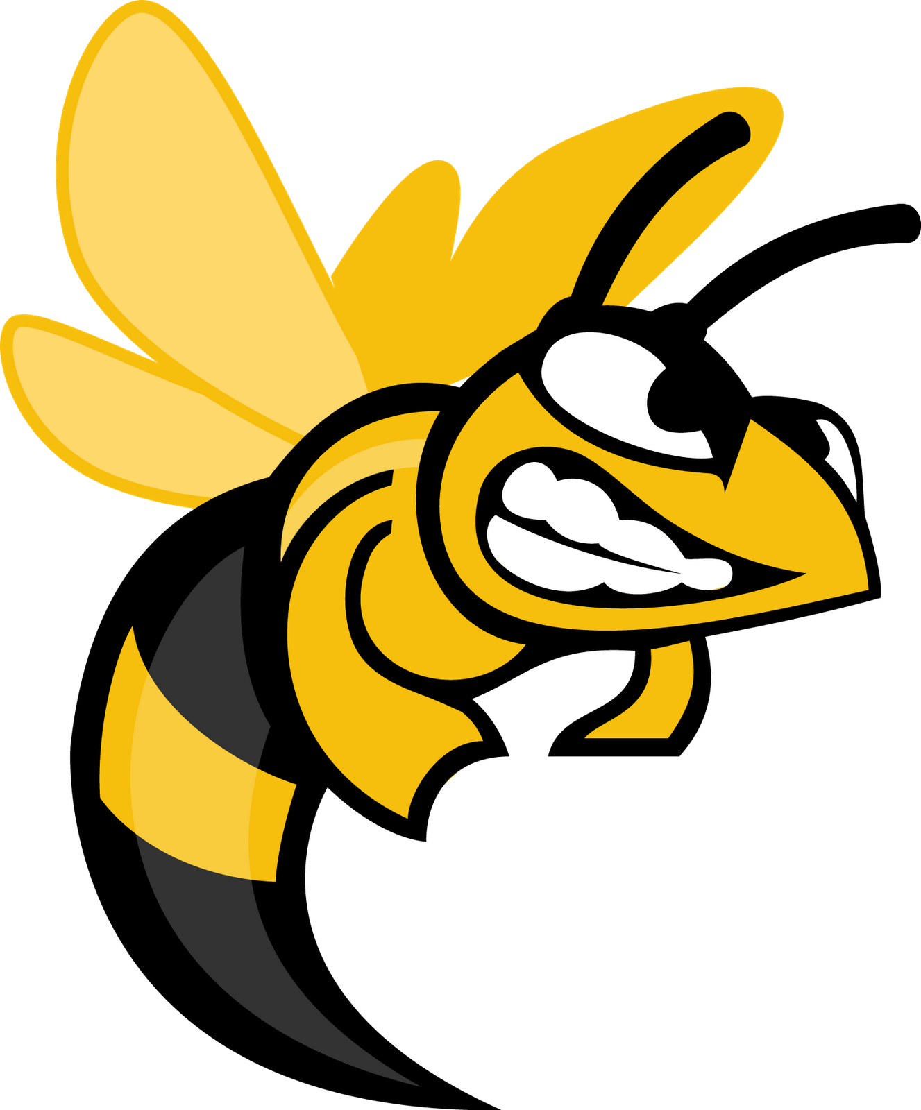 jpg black and white Bees clipart hornet