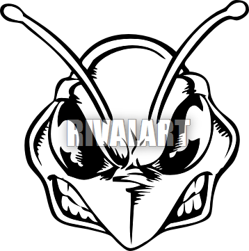 jpg transparent library Hornet clipart head