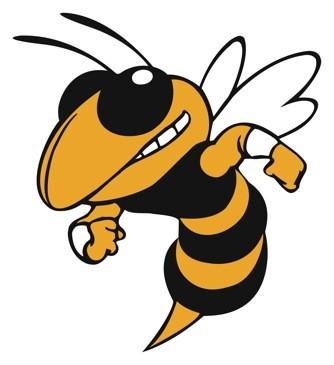 clip art black and white download Free download clip art. Hornet clipart mascot