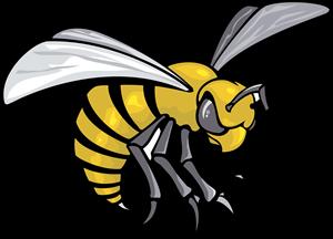 clip art transparent stock Alabama state hornets logo. Hornet vector