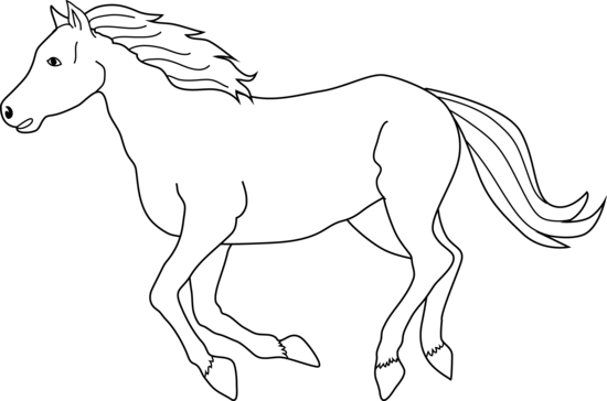 graphic black and white Horse Black And White Drawing at GetDrawings