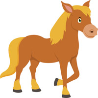 banner download Free horse clip art. Horses clipart