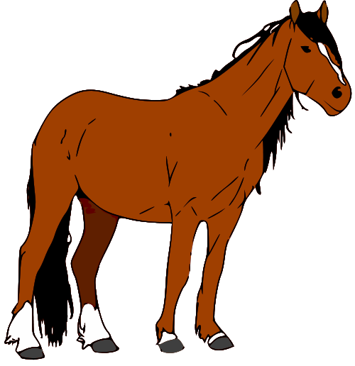 transparent stock Free image of download. Horse clipart.