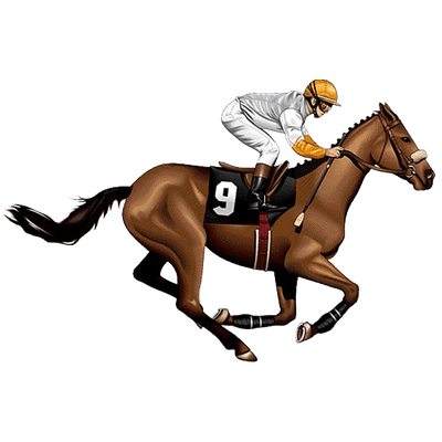 royalty free Horse Racing Clipart Collection