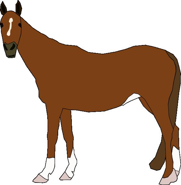 clip art transparent Staring Horse Clip Art at Clker