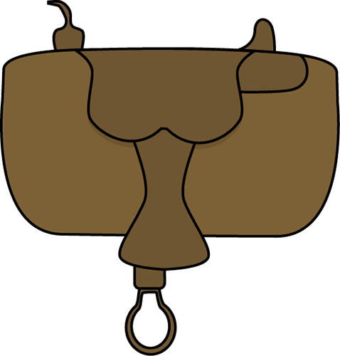png royalty free Western saddle clipart. Horse