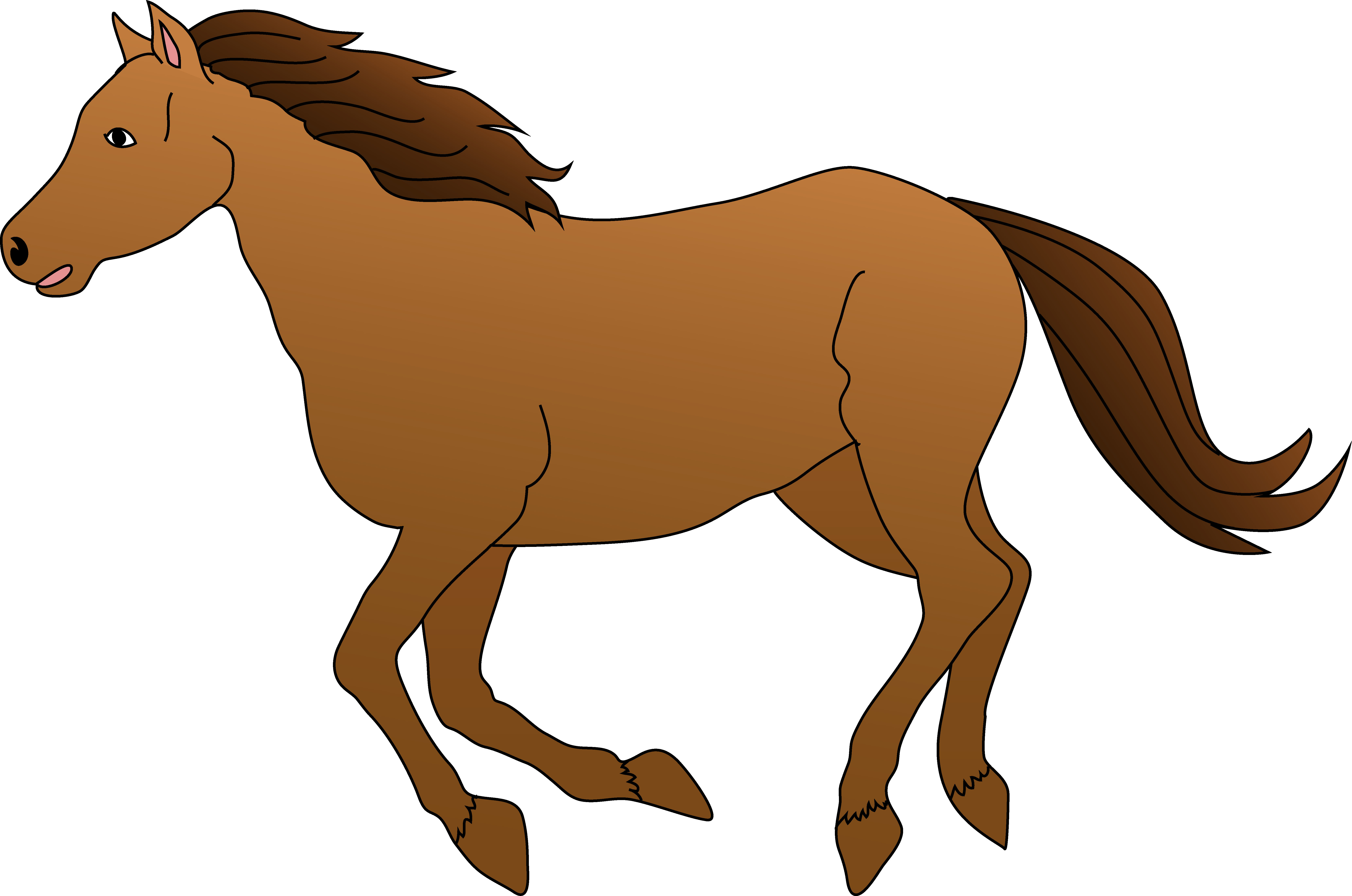 banner royalty free stock Free cliparts download clip. Horses clipart