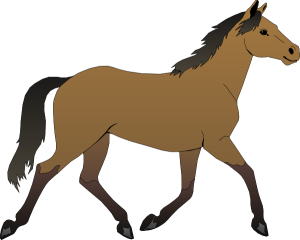 image transparent library Rear Clipart horse