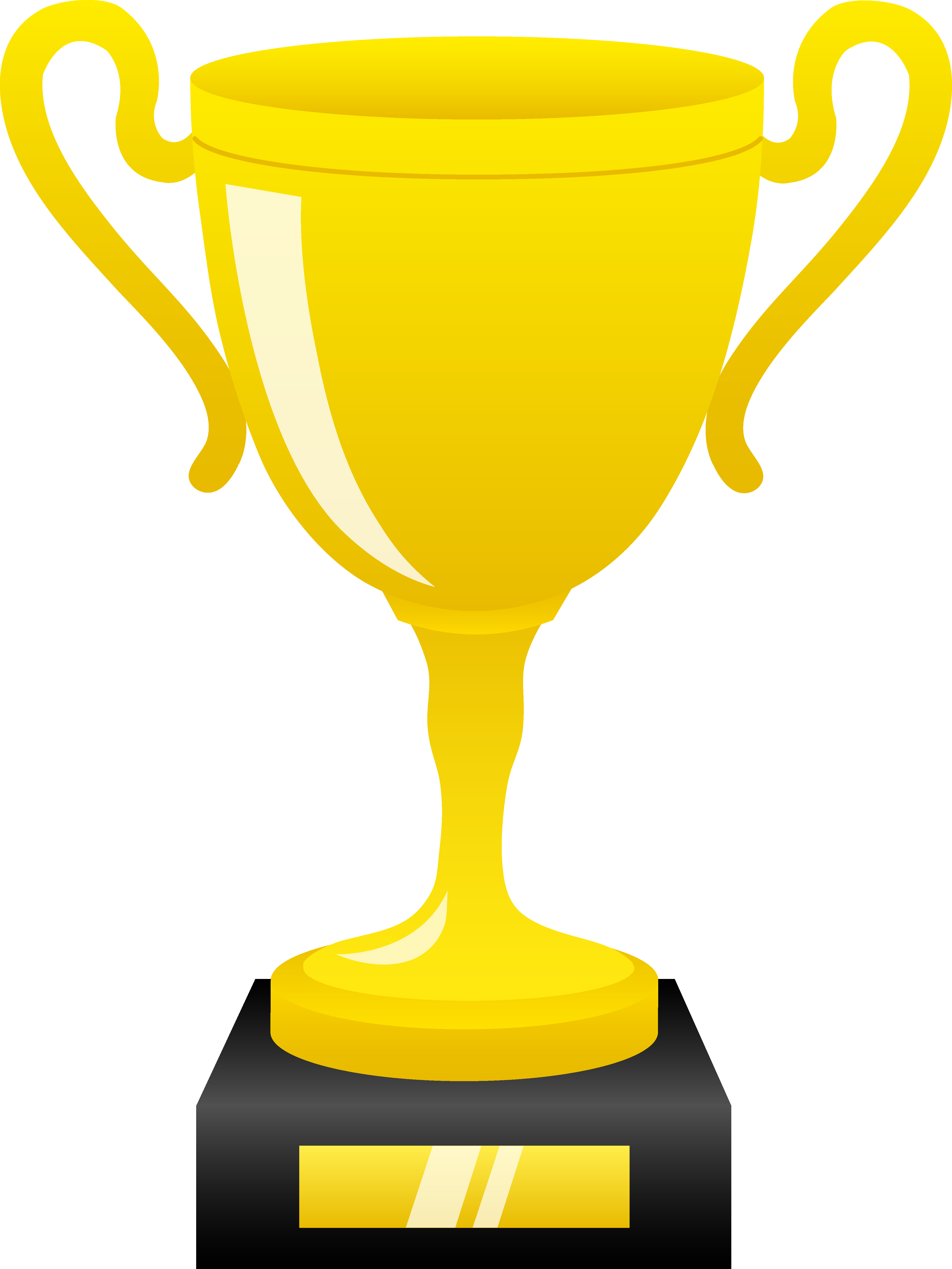 picture royalty free download Free . Trophy clipart.