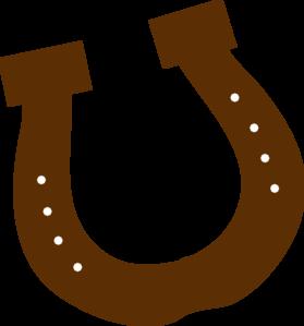 jpg freeuse Brown Horseshoe Clipart