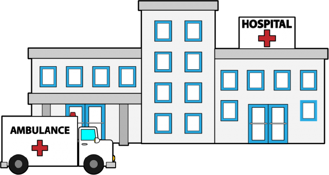 banner library library Outline free on dumielauxepices. Hospital clipart