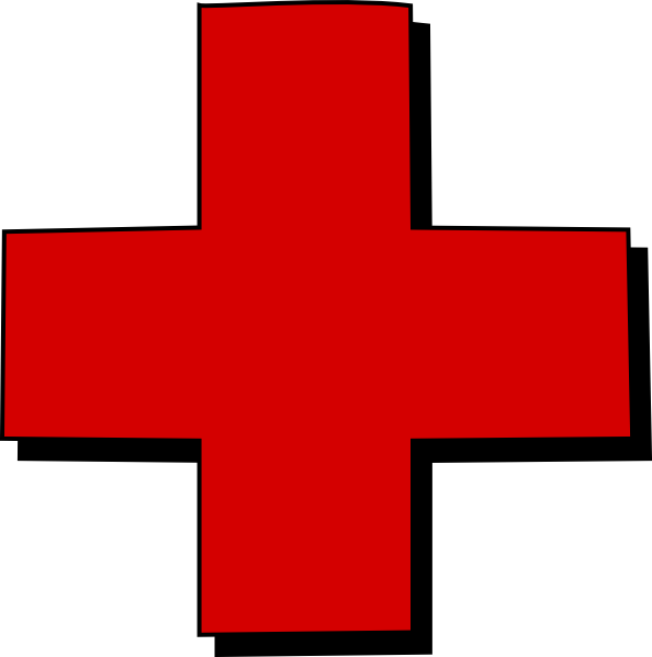 jpg transparent download Red Cross Clip Art at Clker