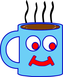 png library stock Hot clipart. Blue chocolate cup clip.