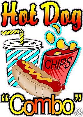 banner royalty free download Hot dog chips and drink clipart. .