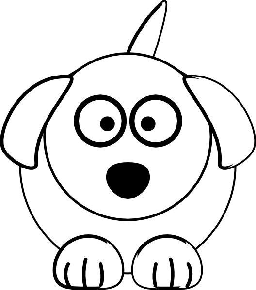 download Building clipart black and white. Dog clip art at