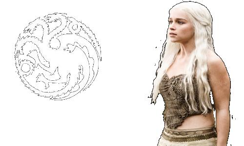 picture transparent stock Daenerys Targaryen