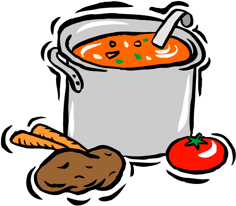 banner black and white library Soup kitchen clipart. Stove at getdrawings com