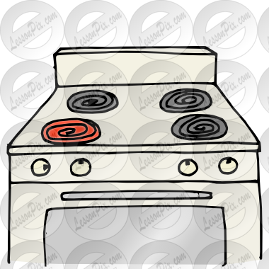 clip art download Stovetop Picture for Classroom