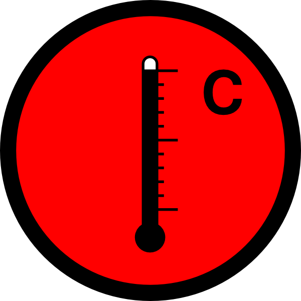clip art royalty free download Thermometer Hot Clip Art at Clker