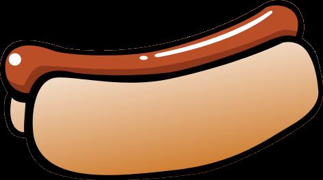 vector free stock Hot Dogs Clipart hotdog stick