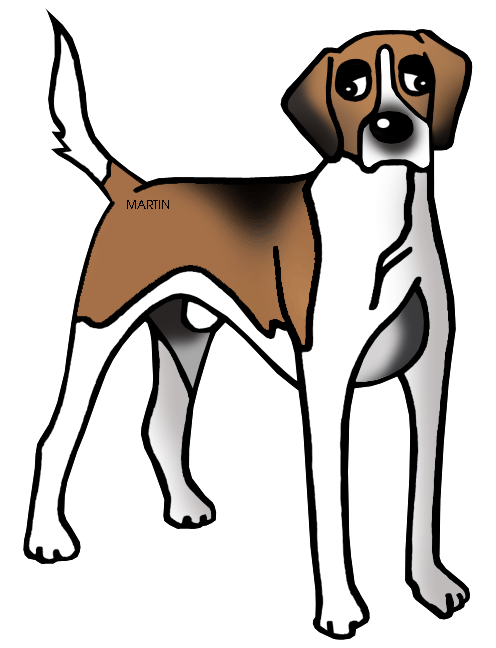 freeuse download hound dog clipart #62342923