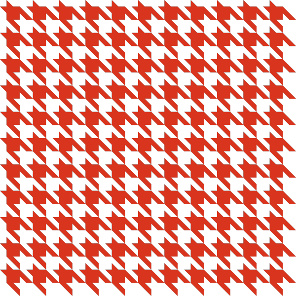 jpg freeuse Red Houndstooth check vector data