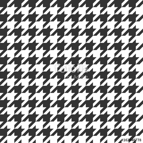 picture library stock Seamless pattern vintage textile. Houndstooth vector transparent