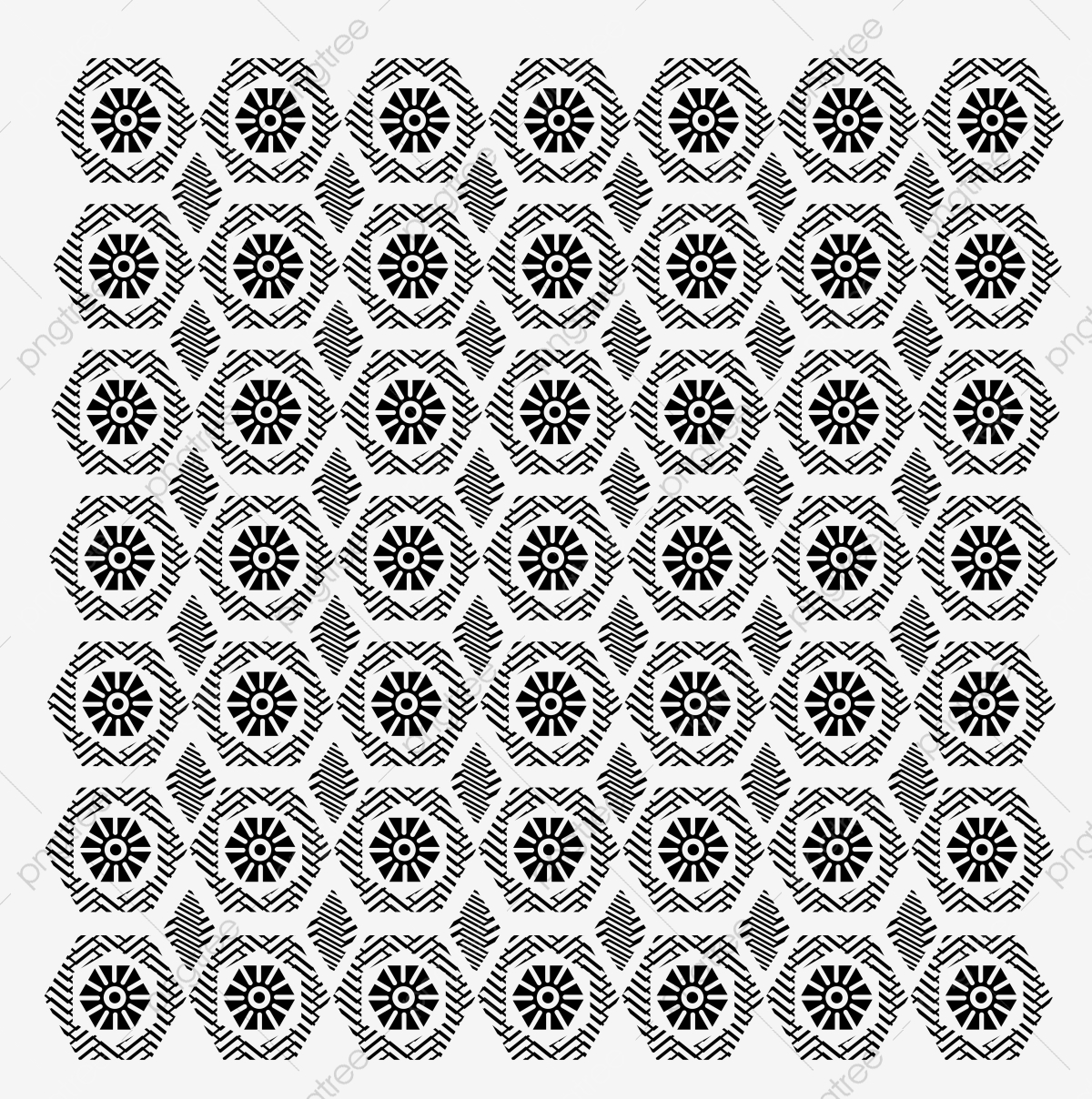 vector freeuse library Houndstooth vector transparent. Black and white pattern