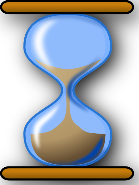 banner royalty free Hourglass Clip Art at Clker
