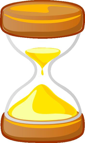 clip art freeuse download Hour Glass Clip Art at Clker