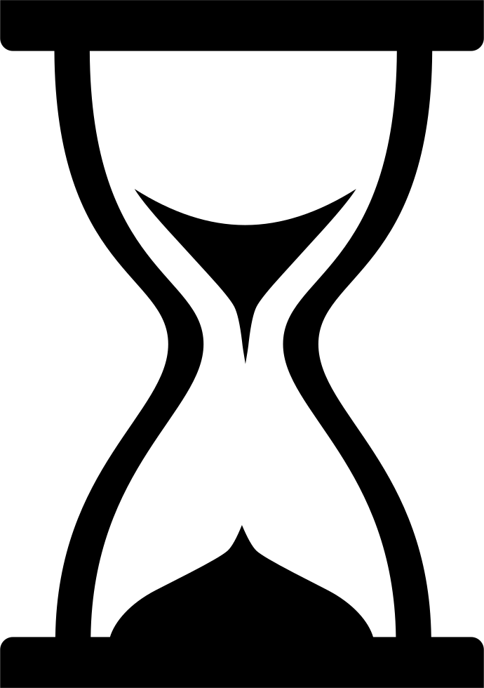 vector transparent Hourglass Timer Loading Svg Png Icon Free Download