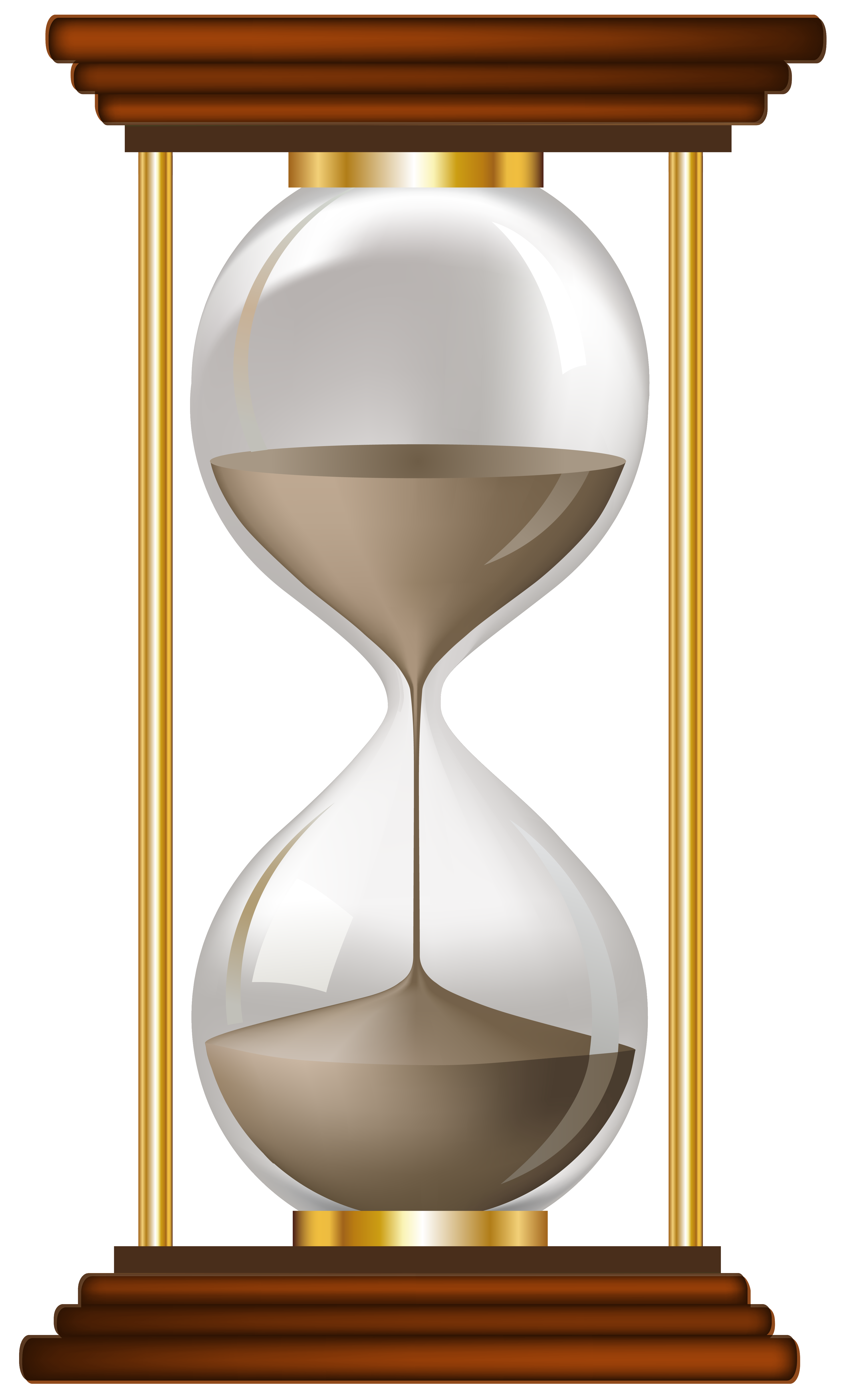 graphic free Sand clock png clip. Hourglass clipart transparent background.