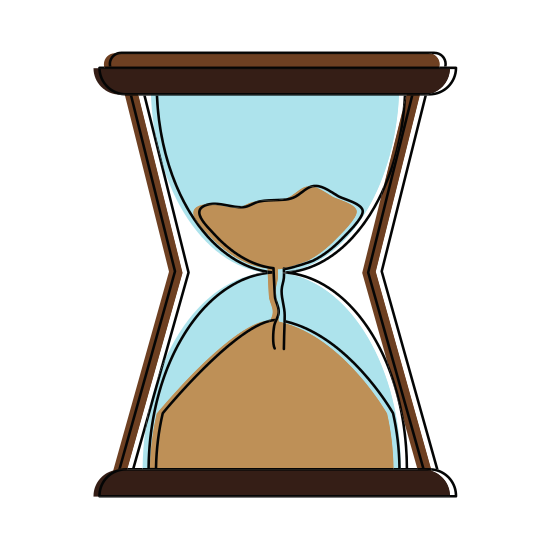jpg library library Hourglass Vintage Clock