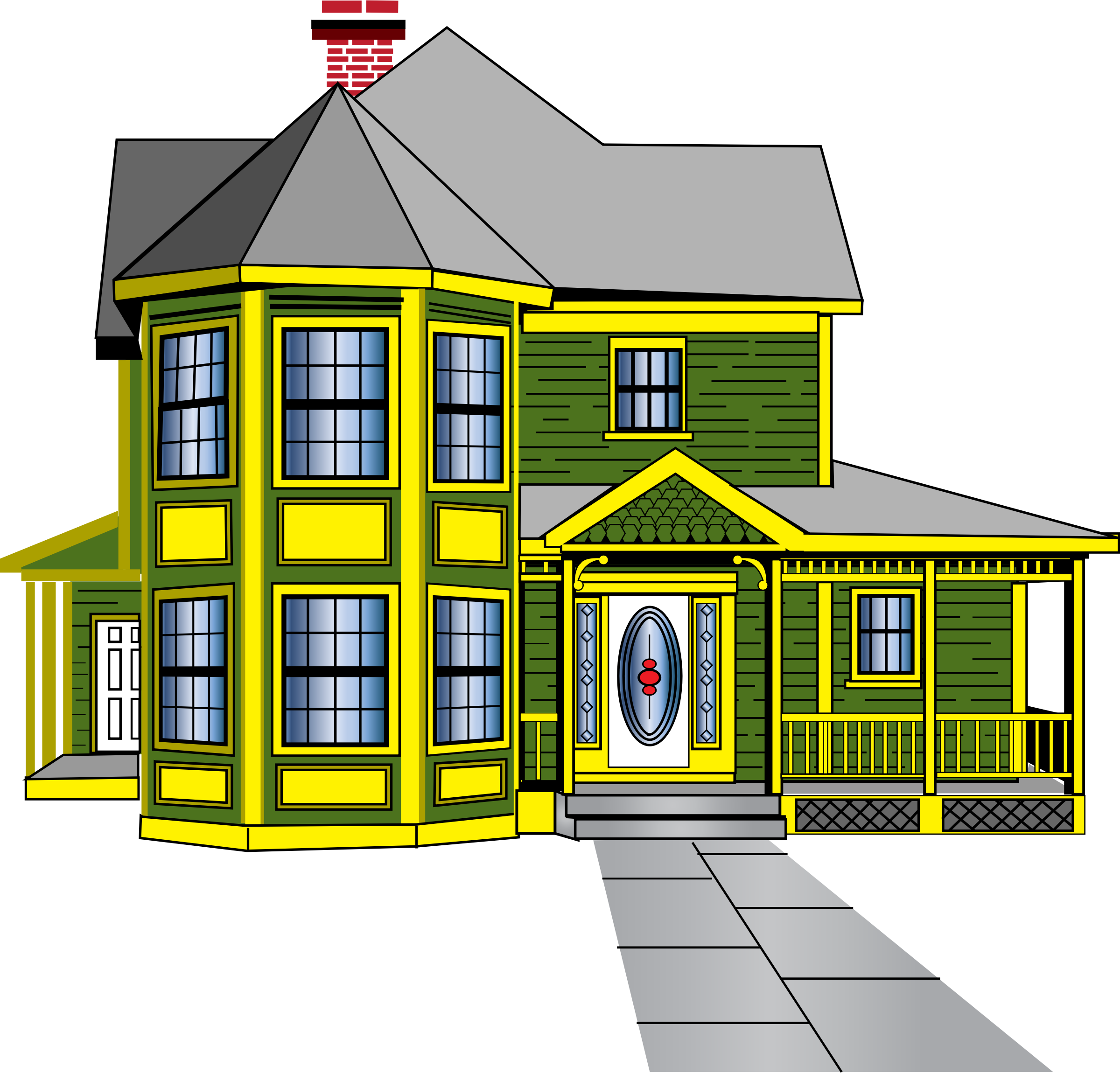 svg royalty free Mansion clipart first house. With porch typegoodies me.