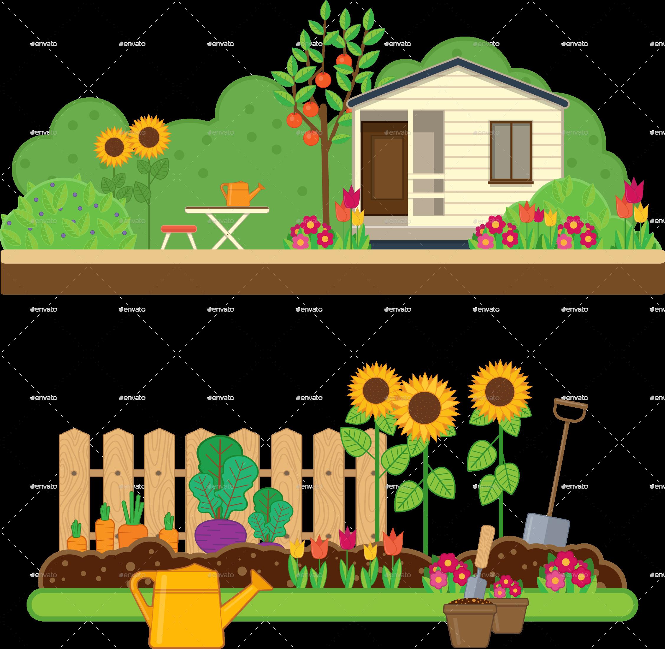 free download gardener clipart garden theme #79260015