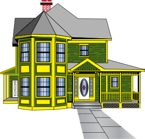 graphic download Gingerbread house clip art. Houses clipart.