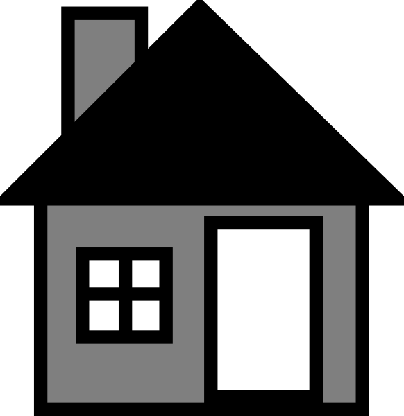clipart library download Grey House The Clip Art at Clker