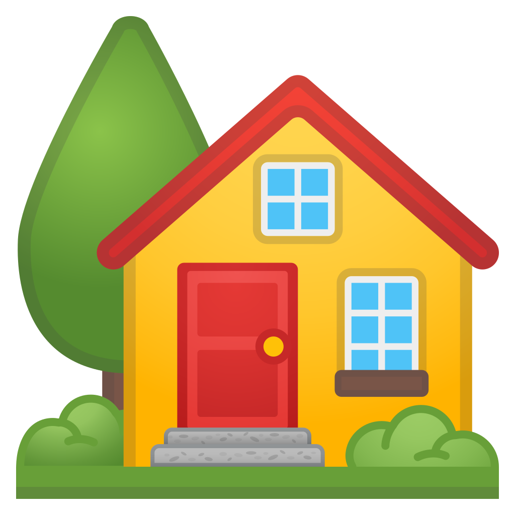 image transparent library House Clipart emoji