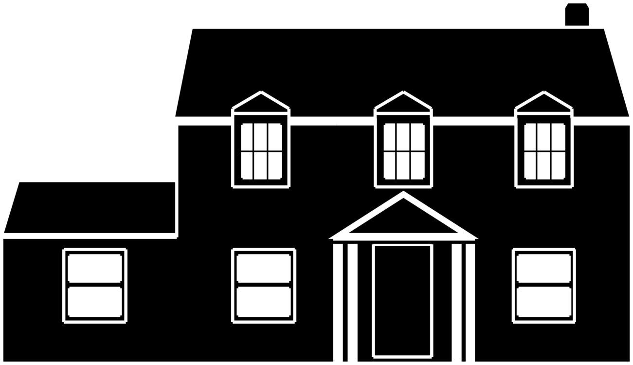 image black and white White house building clip art freeuse download