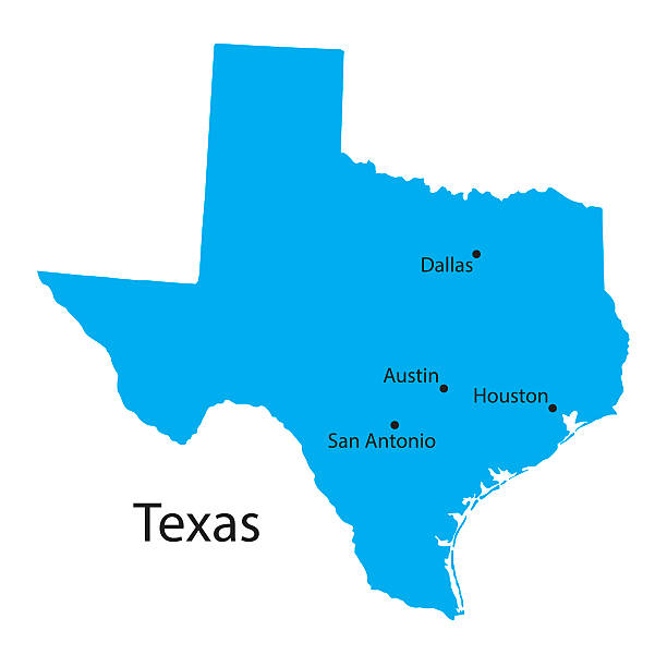image royalty free stock Station . Houston texas map clipart