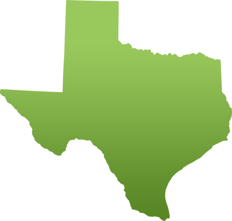 clipart transparent library Texas Map Silhouette at GetDrawings