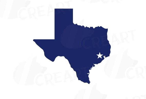 vector freeuse download Houston texas map clipart. Station