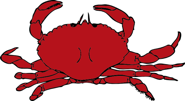 banner free download Blue Crab Clipart Black And White