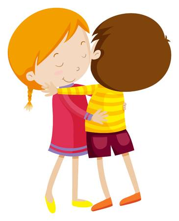 png black and white library Portal . Hugging clipart.