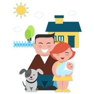 banner black and white Cuddling father free on. Mother clipart born baby.
