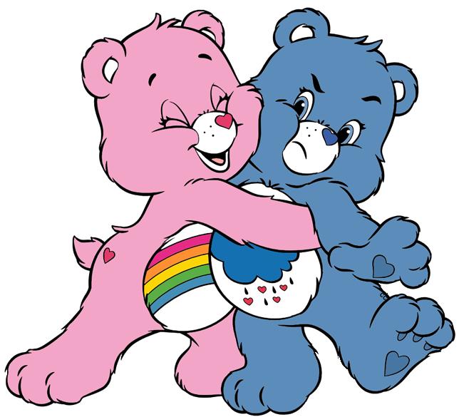 clip art royalty free library Bear hug clipart. Care bears and cousins
