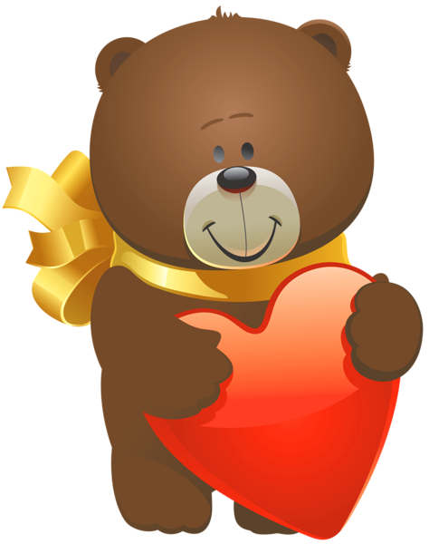 clip freeuse stock Valentine teddy bear png. Fridge clipart hugging